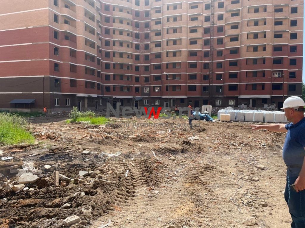 АО «Мосотделстрой №1» обеспечил вывоз строительного мусора с площадок проблемных ЖК «Марушкино» и ЖК «Терлецкий парк»