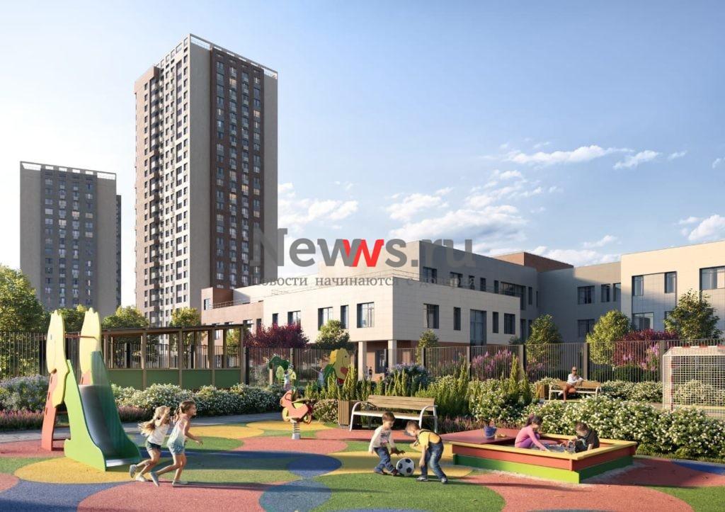 Новый учебный комплекс на 620 мест в районе Чертаново Южное планируют построить в 2022 году
