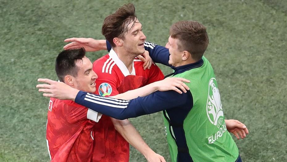 Россия выиграла у Финляндии на Евро-2020 со счётом 1:0