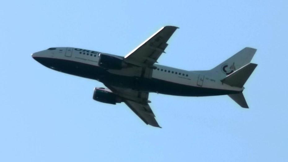 Самолёт из Петербурга с неисправным шасси приземлился в Шереметьево