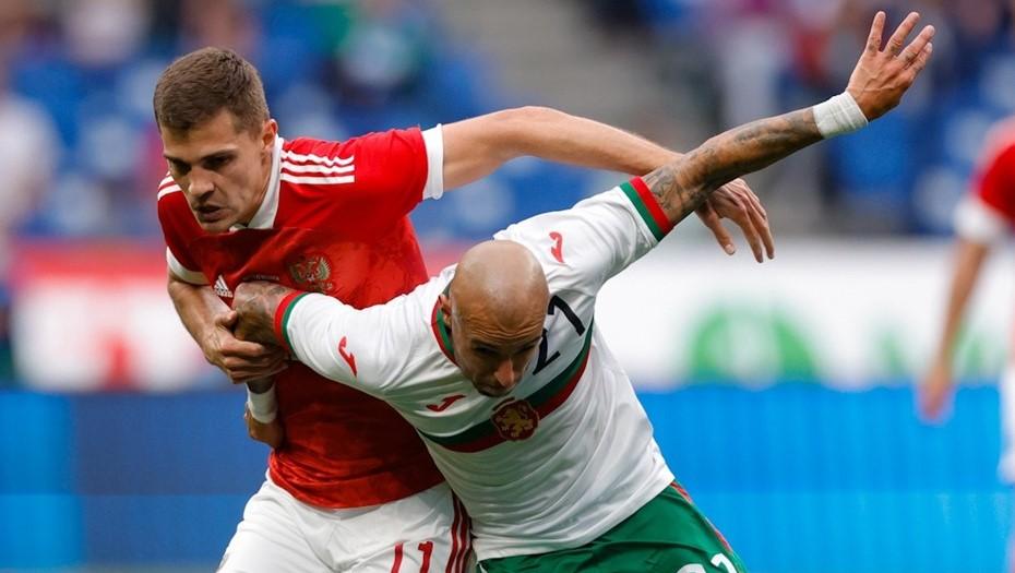 Сборная России выиграла у Болгарии в последнем перед Евро-2020 товарищеском матче