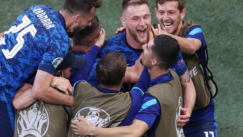 Словакия обыграла Польшу со счётом 2:1