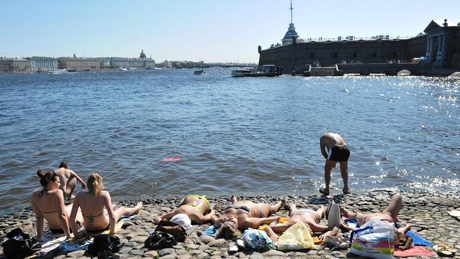 Снова выше нормы: антициклон подарит Петербургу жаркий день