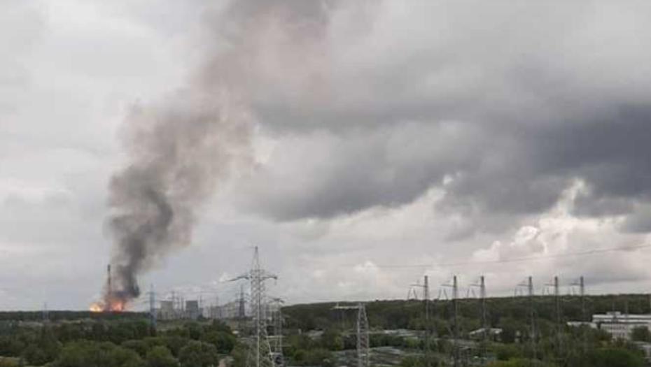 Стала известна причина пожара, оставившего петербуржцев без света
