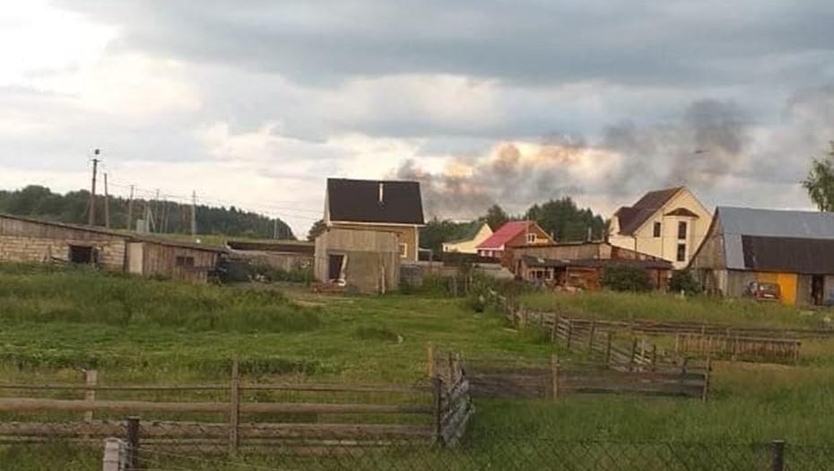 Три человека погибли в результате крушения Ми-8 в Ленобласти