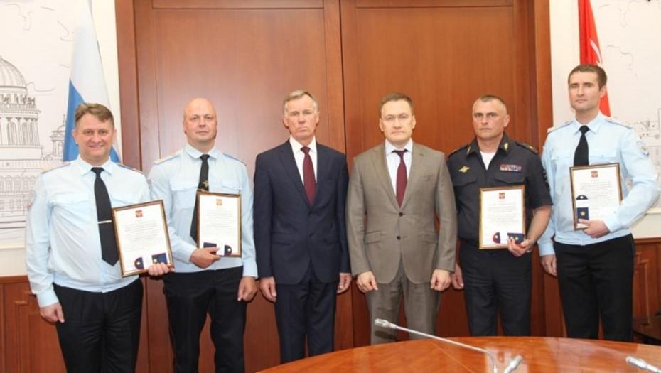Трое руководителей петербургского главка МВД стали генералами