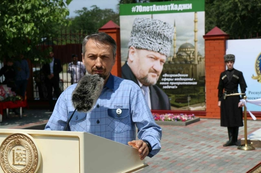 В Чечне открыли памятник Доктору Лизе