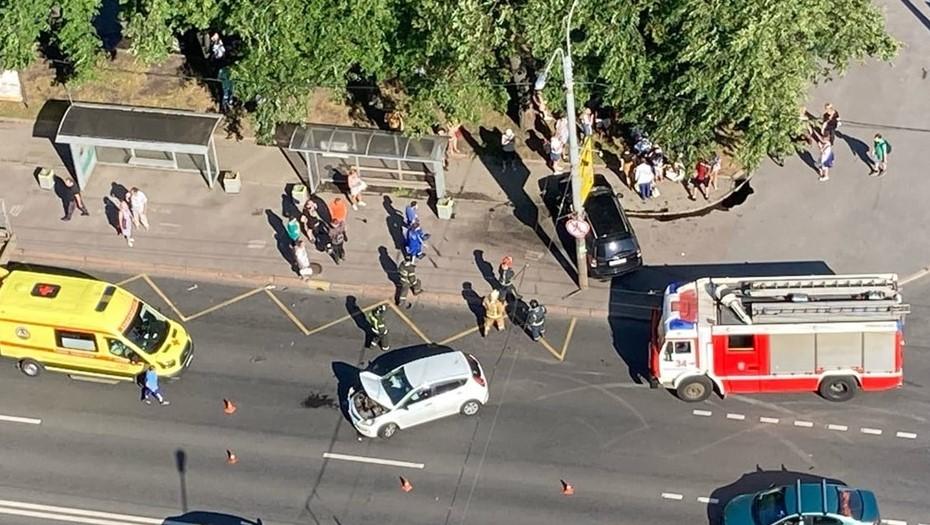 В ДТП на Гражданском проспекте пострадал ребёнок