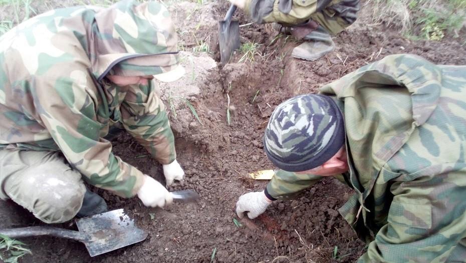 В Волховском районе обнаружены останки солдата времён ВОВ