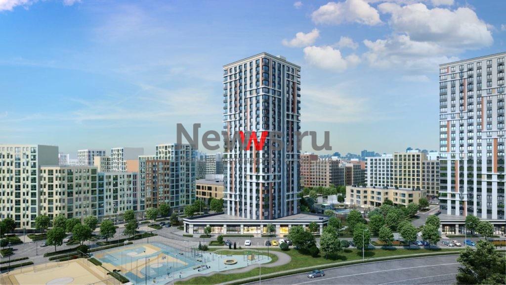 ГК «Пионер» планирует открыть продажи в трех новых корпусах-башнях ЖК LIFE-Варшавская