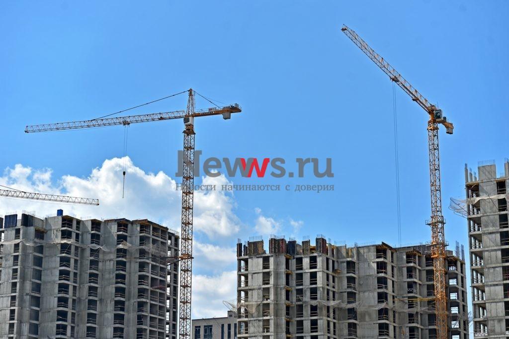 Строительство более 19,5 млн кв. метров недвижимости одобрено в Москве в первом полугодии 2021 года