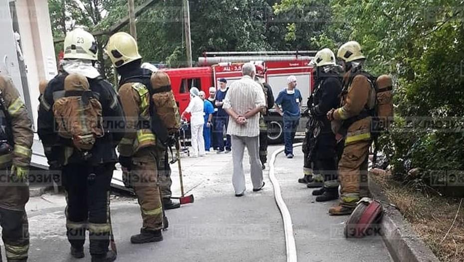 Причиной пожара в Елизаветинской больнице стал старый КТ