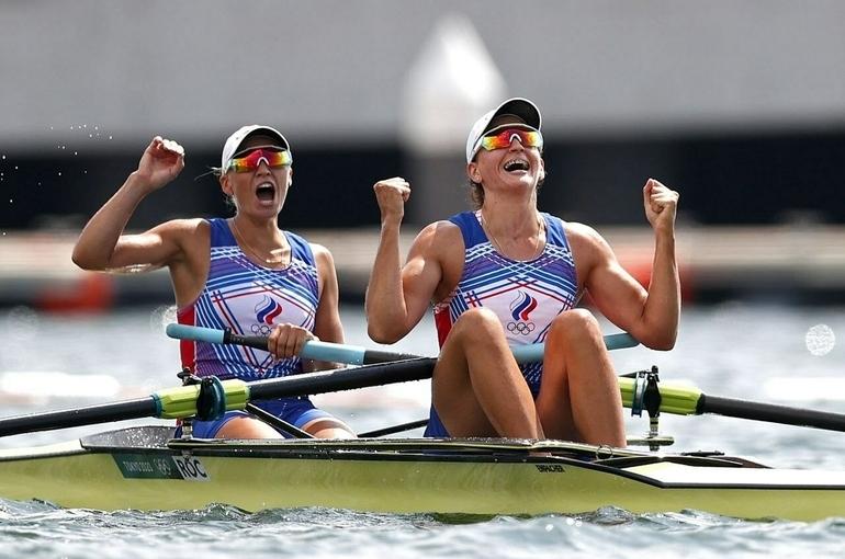 Россияне взяли серебро Олимпиады в академической гребле в женских двойках