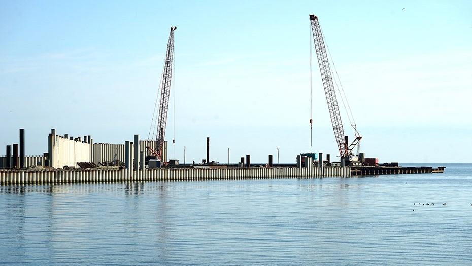 В Калининграде ищут нового подрядчика на стройку порта в Пионерском