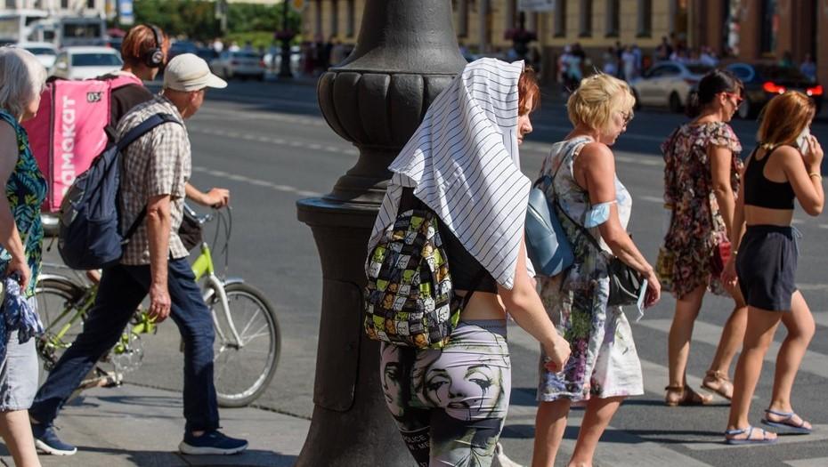 В начале недели в Петербург вернётся 30-градусная жара