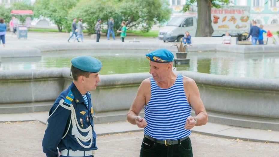 В Петербурге отменяются массовые мероприятия, посвящённые Дню ВДВ