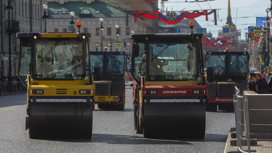 """В Петербурге стартует ремонт в рамках проекта """"Безопасные и качественные дороги"""""""