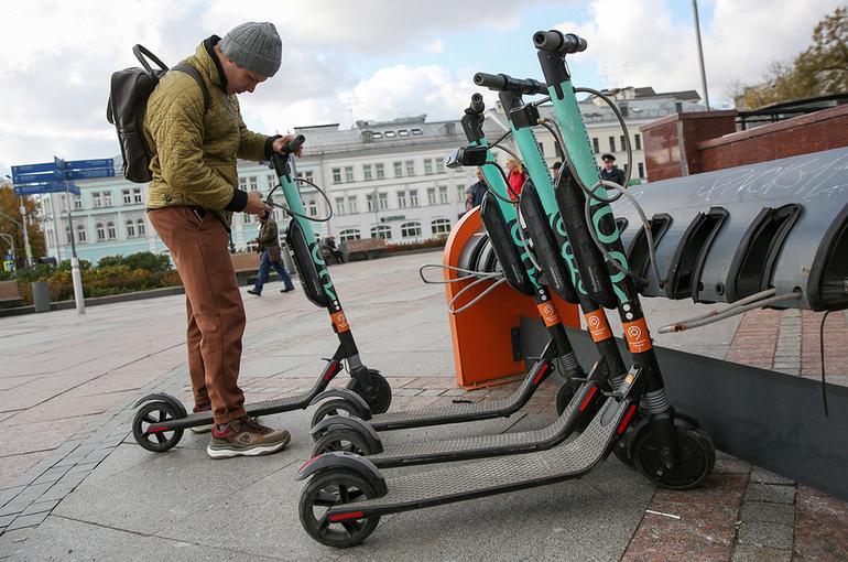 В Санкт-Петербурге ограничили скорость электросамокатов до 20 км/ч