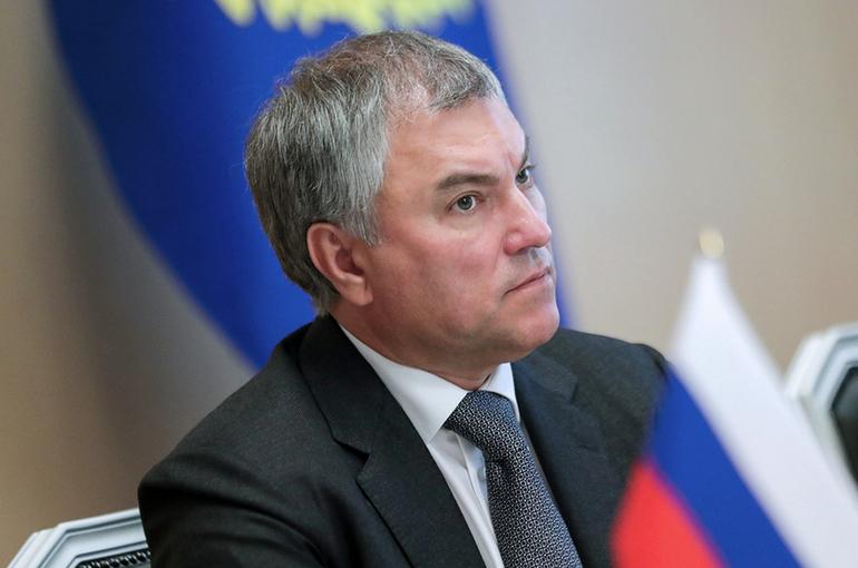 Володин заявил об отсутствии у него планов стать президентом