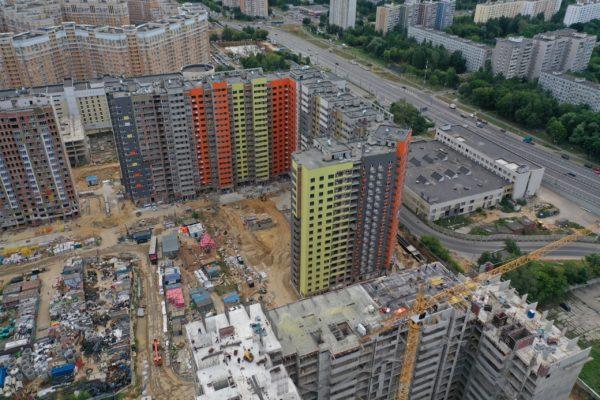 С начала июля высота 11 секций на двух корпусах II очереди проблемного ЖК «Царицыно» увеличилась на два этажа