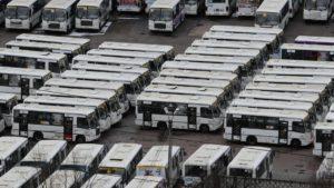 Большую часть маршрутов Петербурга будут обслуживать три перевозчика