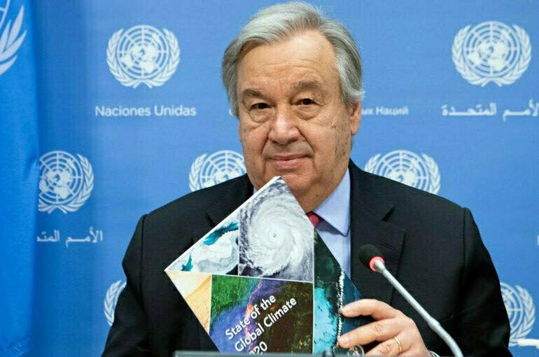 Генсек ООН: ситуация в Афганистане выходит из-под контроля