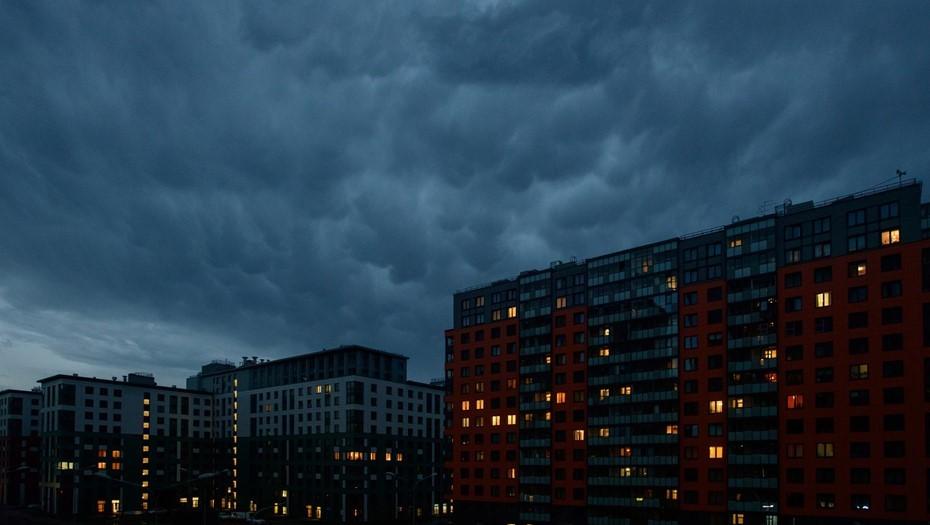 МЧС предупреждает о сильных дождях в Ленинградской области