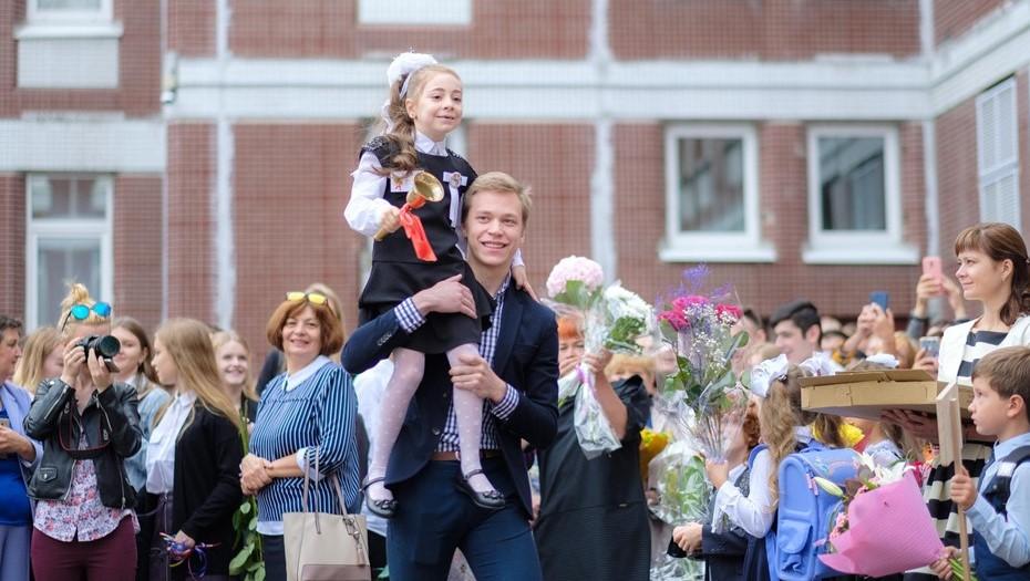 На линейки 1 сентября в Петербурге родители попадут только в масках