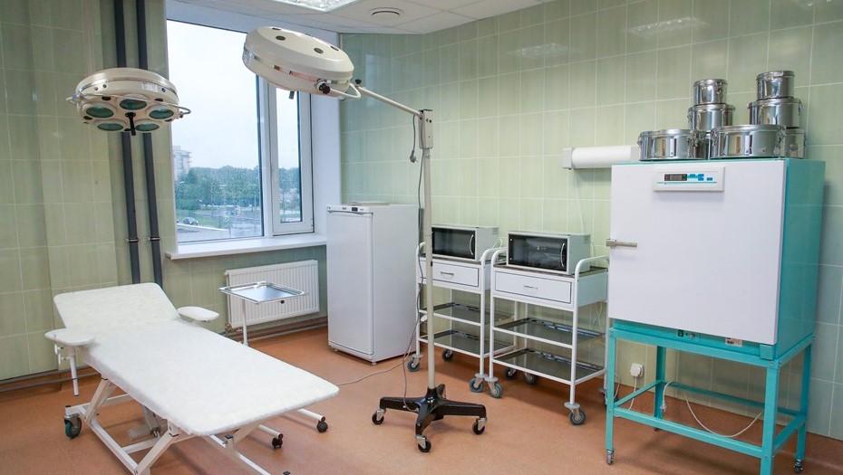 Новая поликлиника в Приморском районе сможет принимать до 600 горожан в смену