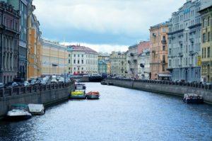Новый атлантический циклон принесет дожди в Санкт-Петербург