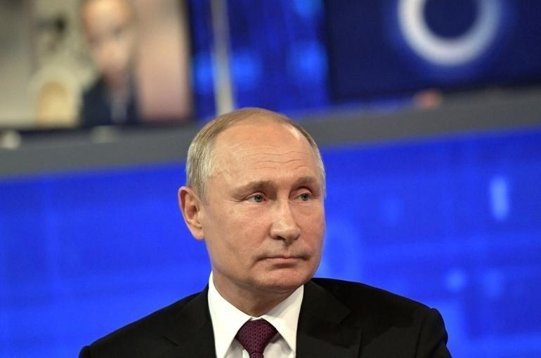 Путин: отсутствие российского флага на Олимпиаде не влияет на качество выступления спортсменов