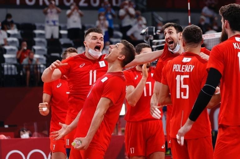 Российские волейболисты выиграли серебро Олимпиады в Токио