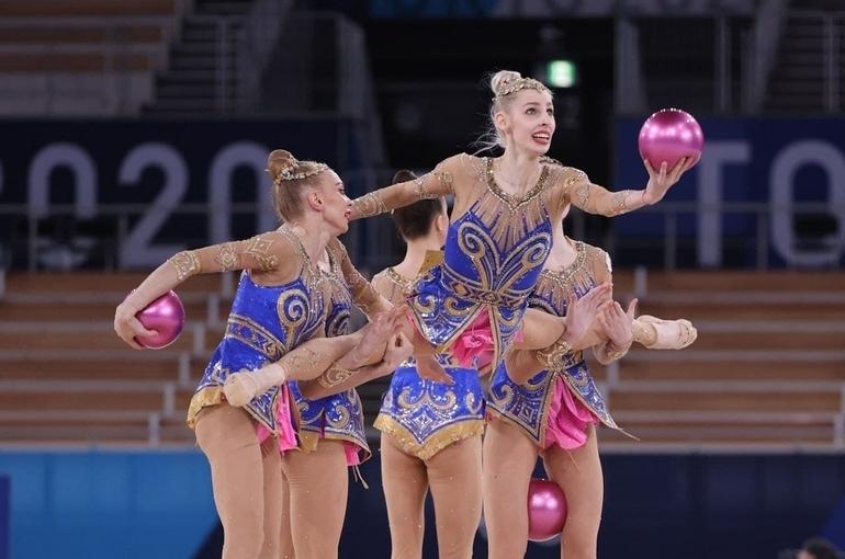 Сборная России по художественной гимнастике завоевала серебро на Олимпиаде