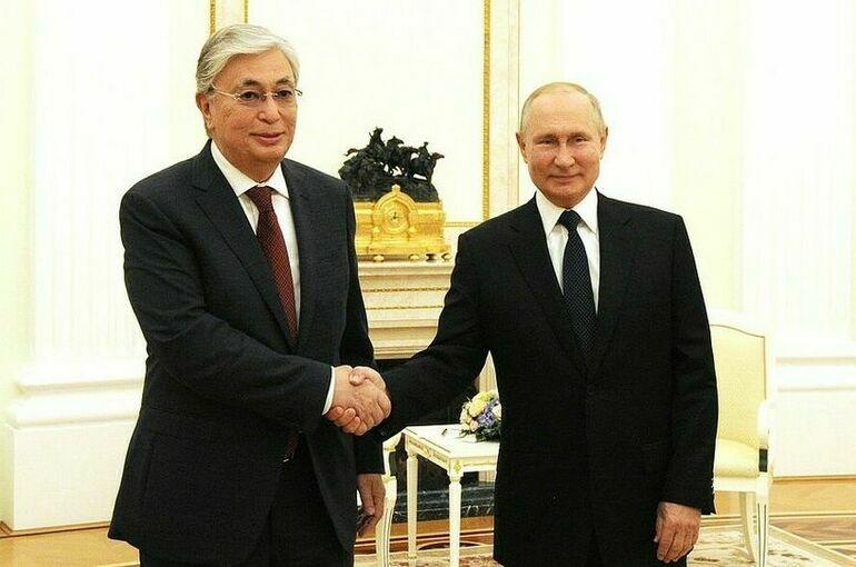 Токаев заявил, что Казахстан и Россия являются союзниками