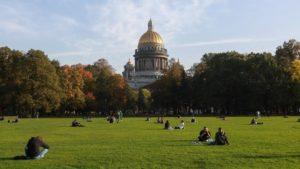 Потепление придёт в Петербург в начале новой недели