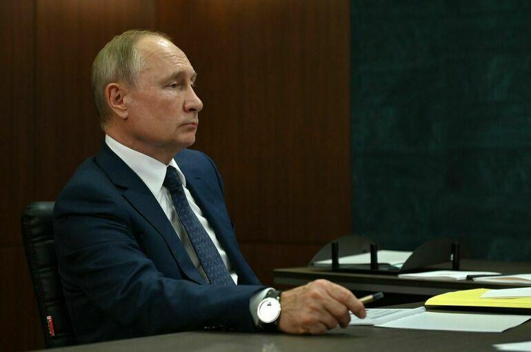 Президент проведёт заседание Совета Безопасности России 27 сентября