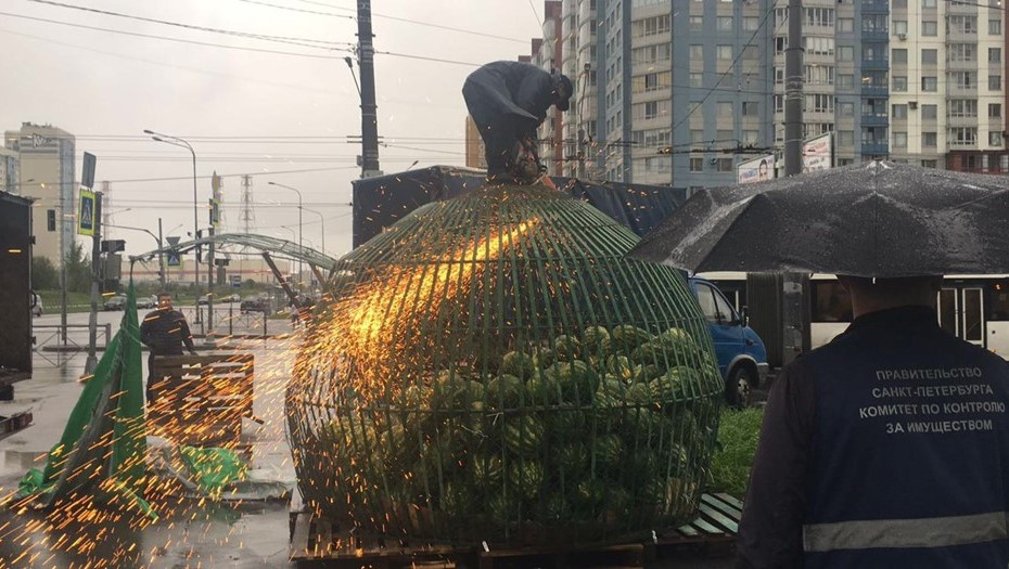 Смольный за неделю закрыл более 60 точек с дынями и арбузами в Петербурге