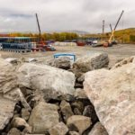 В Мурманске начали строительство морского торгового порта Лавна