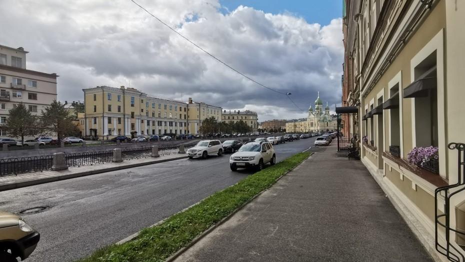 В Петербурге завершился двухлетний капремонт на набережной канала Грибоедова
