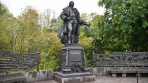 В Петрозаводске открыли памятник Чарльзу Гаскойну