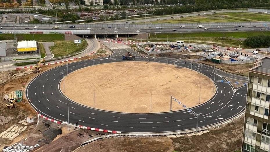 Жители Мурино жалуются на недоработку нового транспортного кольца