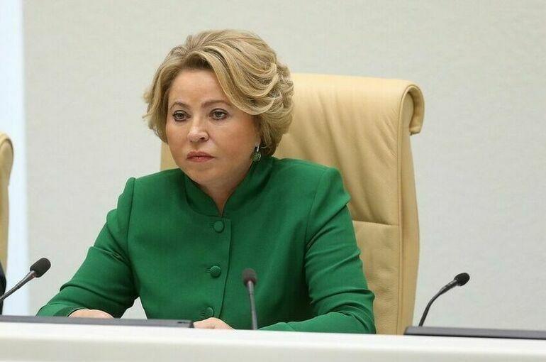 Матвиенко: в России нет необходимости вводить общефедеральный локдаун