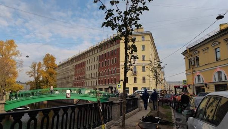 На набережной канала Грибоедова заложили Прокурорскую аллею