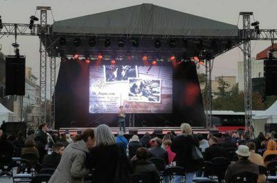 Солисты хора Александрова выступили в Белграде по случаю 77-летия освобождения города